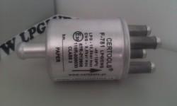 filter plynnej fázy CERTOOLS F-781 12/4x8